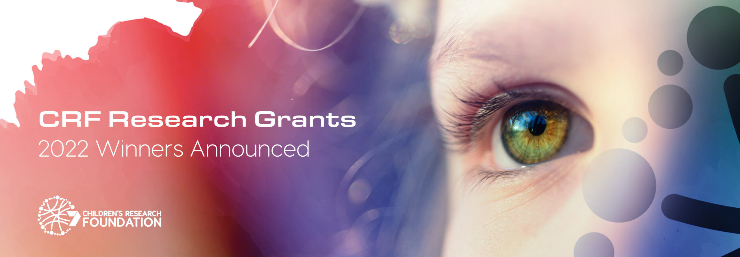 CRF RESEARCH GRANTS – 2022 WINNERS ANNOUNCED