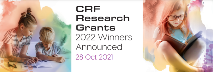 Discover first-hand who will be undertaking CRF-supported research in 2022!